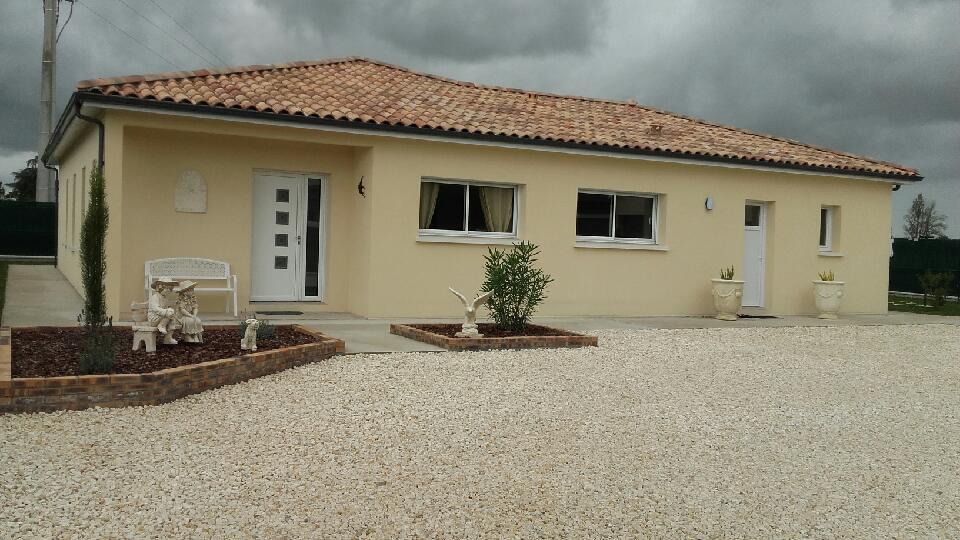 Construction de maison plain-pied à Saint-Magne-De-Castillon