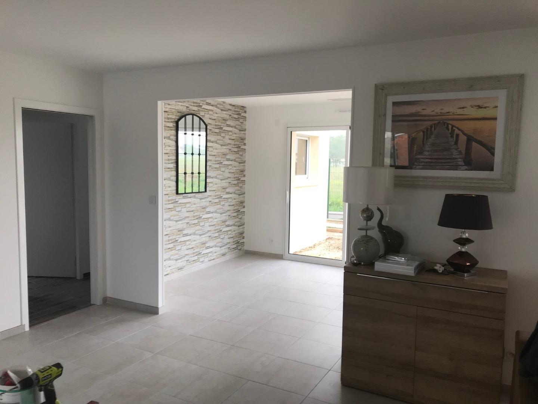 Construction de salon avec clarté intérieure près de Bordeaux